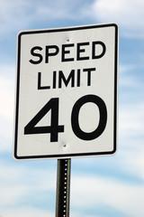 Speed Limit - 40