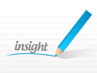 insight message illustration design