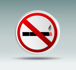 plaque designating smoking ban