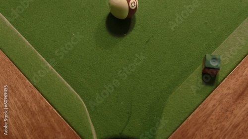 Playing Snooker - Detail Shot