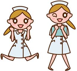 女性看護師バリエーション
