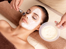 Terapia Spa dla kobiet otrzymujących Maseczka