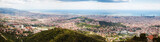 Panorama of Barcelona city from Tibidabo