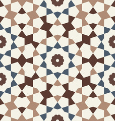 Heris Seamless Pattern Two