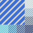 seamless blue and aqua stripes background set