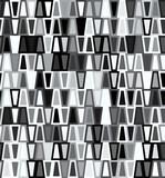 Trapezoid seamless geometric pattern poster