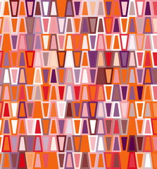 Trapezoid seamless geometric pattern