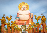 Fat laughing Buddha in Koh Samui