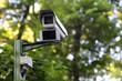 Security cam in park