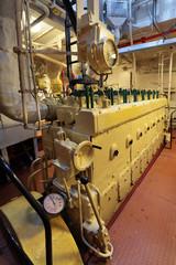 Diesel engine in ship
