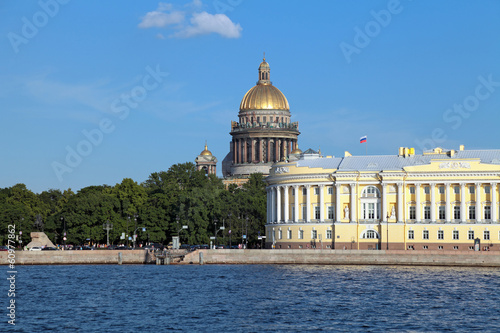 Saint Isaac's Cathedral, Saint Peterburg, Russia