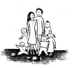 numerous family