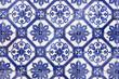 Leinwanddruck Bild - Traditional Portugese Tile (azulejos), Lisbon, Europe