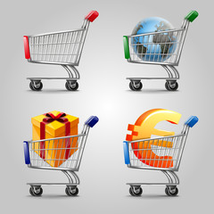 cart market for order online and e-commerce