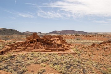 Pueblo at Wupatki National Park