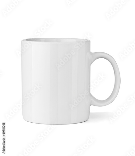 white coffee cup mug - 60981048