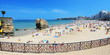 Plage de Biarritz, France.
