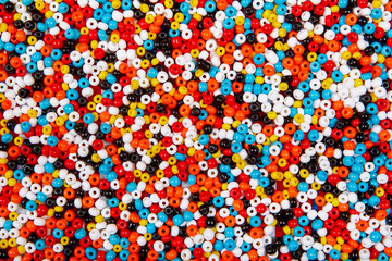 colorful bead background