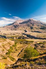 Mount St. Helens, Washington, USA.