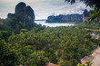 Beautiful beach and limestone landscape at Railay