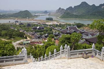 Bai Dinh temple near Ninh Binh, Vietnam