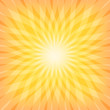 Sun Sunburst Pattern