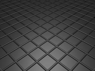 Gray fleeing floor like a grid