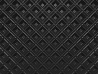 Gray grid mosaic