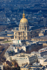 Cathedral Les Invalides in Paris
