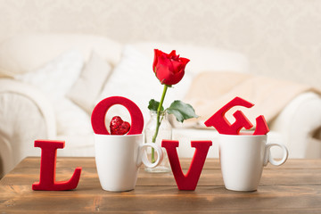 Love With Teacups © Springfield Gallery