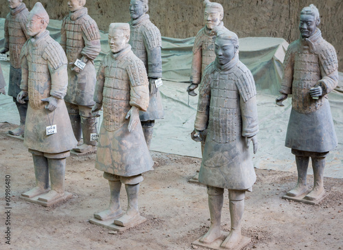 Papiers peints Xian Armée de Terre cuite