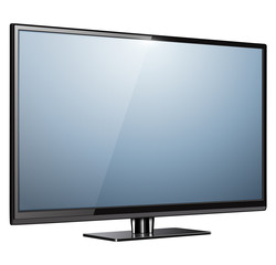 TV, modern flat screen lcd, led