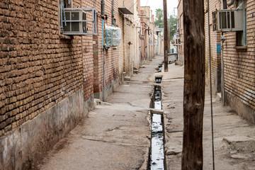 Street in Sush (Susa), Iran.