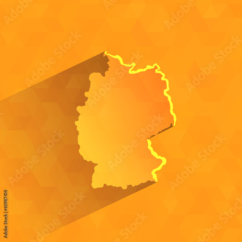 Germany. Vector format