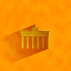 Brandenburg Gate. Vector format