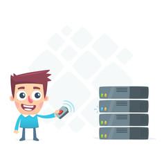 remote monitoring server