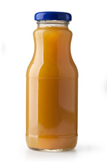 Bottle of carrot juice
