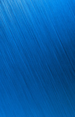 blue brushed metal background texture