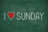 I love Sunday