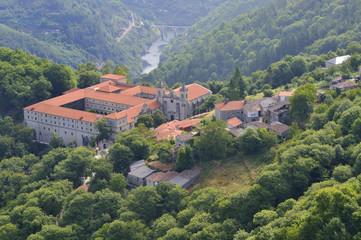 San Esteban de Ribas de Sil monastery, Ribeira Sacra, Ourense, G