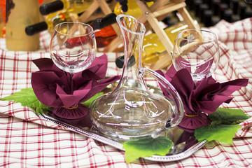 Glass Arrangement