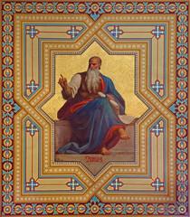Vienna - Fresco of Amos prophets in Altlerchenfelder church