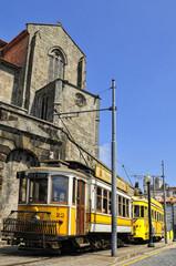 Old tram, Porto, Portugal