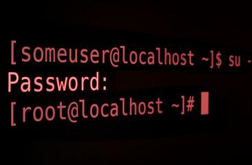 Root-Passwort red