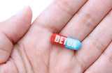 Detox pill poster