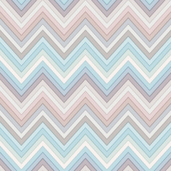 seamless multicolor horizontal fashion chevron pattern