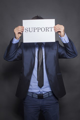 We offer support to you