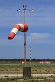 Italy, Bari International Airport, windsock