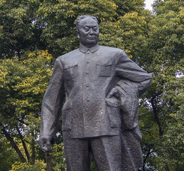 Statue of Chen Yi in Shanghai