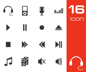 Sound icons set